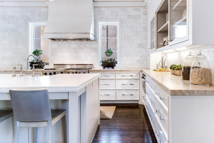 Kitchen Inspiration Backsplash Design by Ellen Grasso & Sons