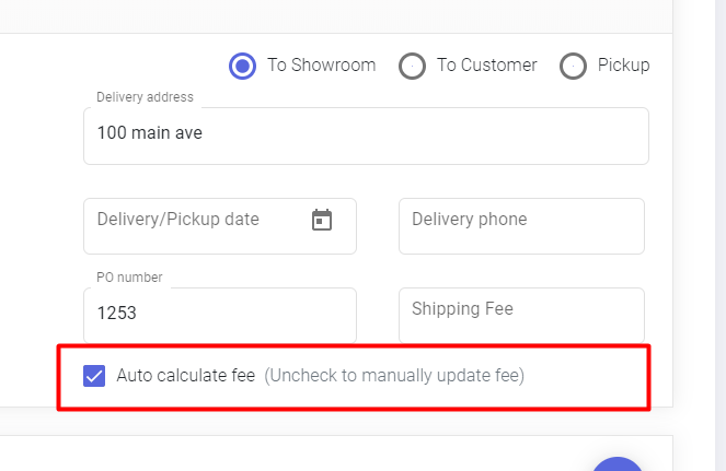Manufacturers Can Now Control Shipping Fees Manually