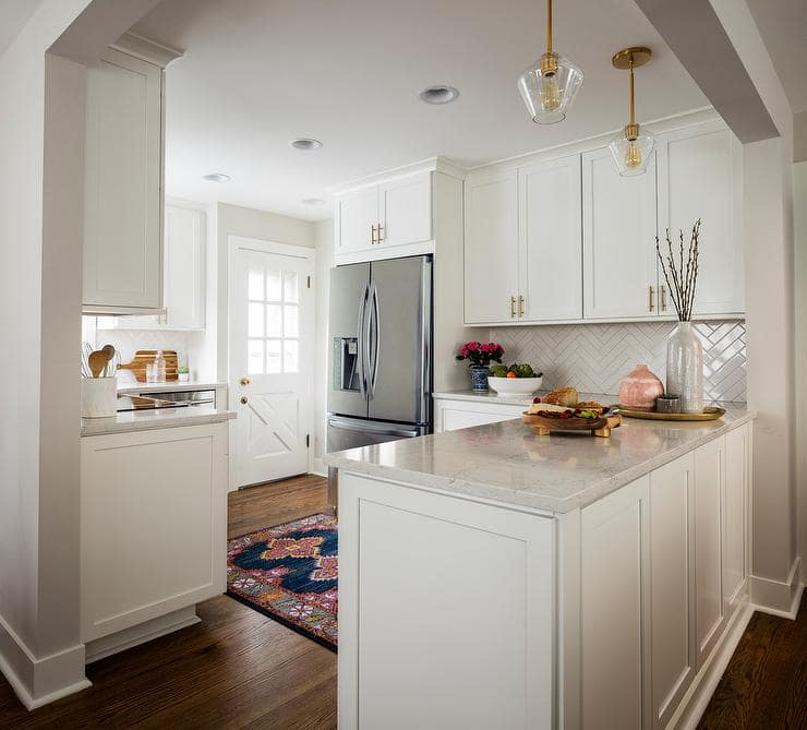 Small Kitchen Inspiration Design by Kimberlee Marie Interior Design