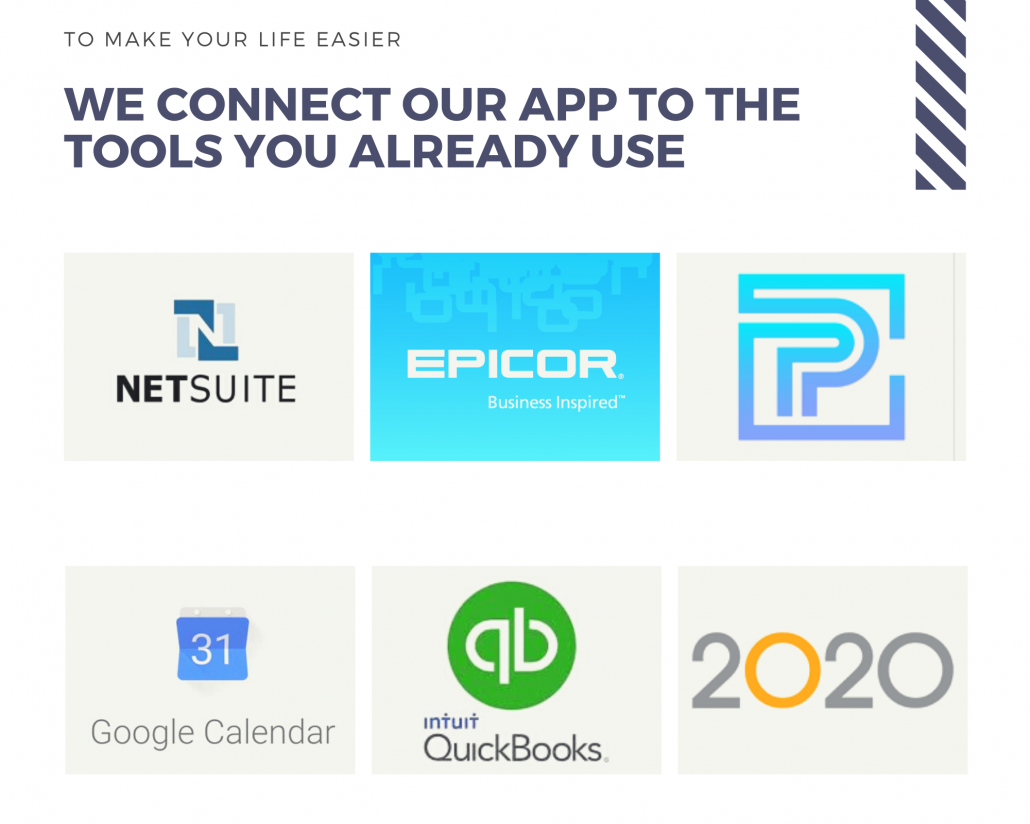 we connect our app to the tools you already use