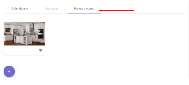 Let Your Customers Attach Project Pictures