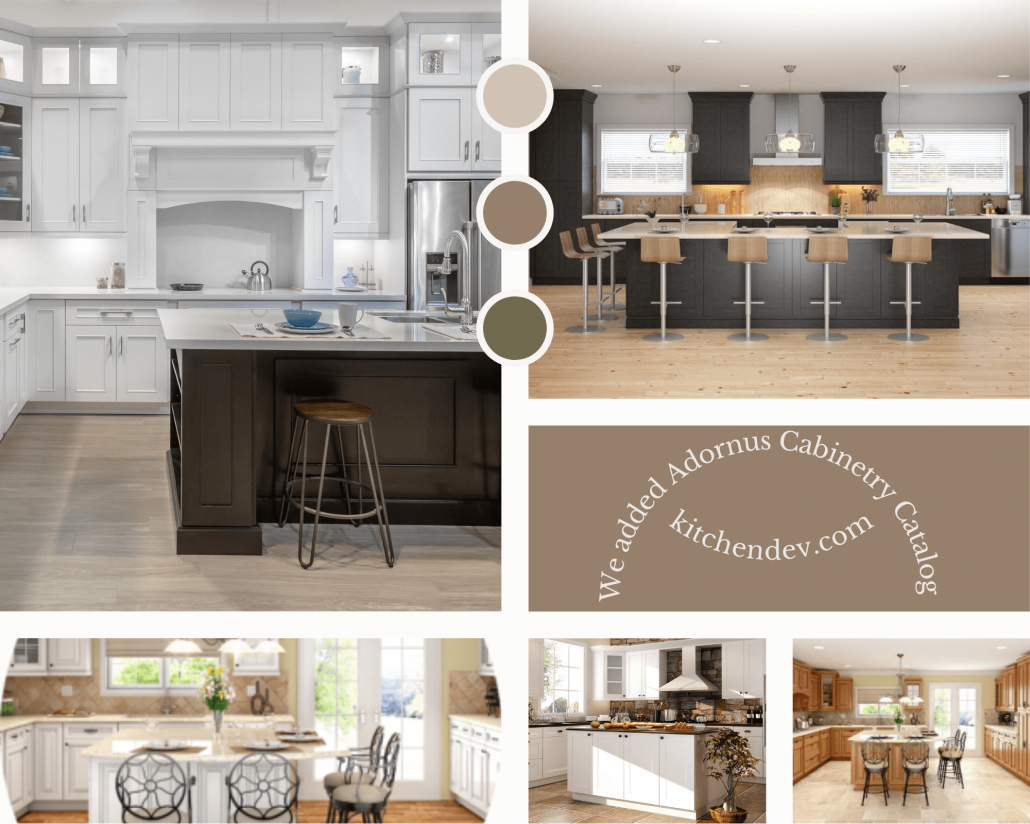 Adornus Cabinetry Catalog is Imported into the App